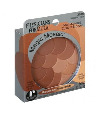 Physicians Formula Magic Mosaic Multi-Colored Custom Face Powder, Light Bronzer, 0.3-Ounces