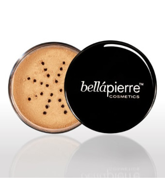 Bella Pierre Mineral Foundation (Nutmeg), 0.3-Ounce