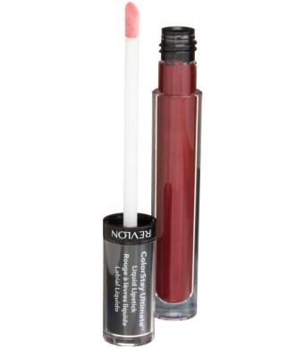 Revlon ColorStay Ultimate Liquid Lipstick, Brilliant Bordeaux, 0.1 Ounce