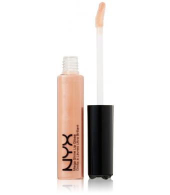 NYX Mega Shine Lip Gloss, Sugar Pie, 0.37 Ounce