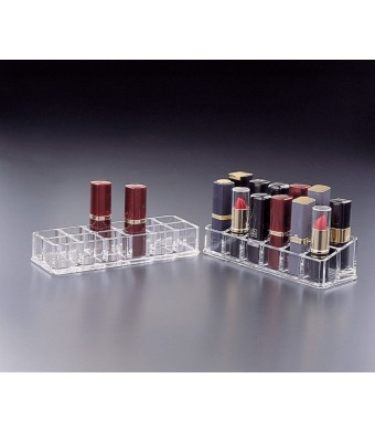 Lipstick Stand (Right) 2 Tier 12 (Angled)