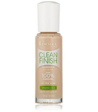 Rimmel Clean Finish Foundation, True Ivory
