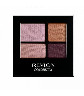 REVLON Colorstay 16 Hour Eye Shadow Quad, Decadent, 0.16 Ounce