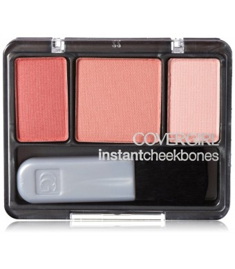 CoverGirl Instant Cheekbones Contouring Blush Refined Rose 230, 0.29 Ounce Pan