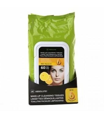 A! Absolute Make-Up Cleansing Tissues Vitamin C Extract (60 CT)