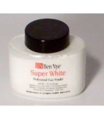 Ben Nye Super White Translucent Face Powder - 1.75 oz - Shaker Jar