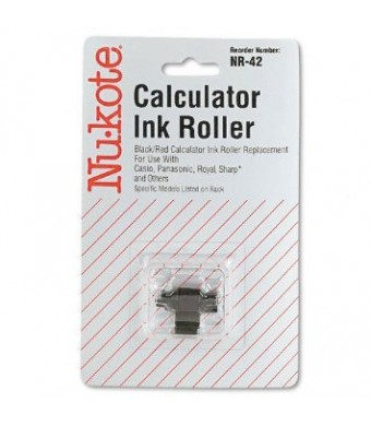 Nu-Kote NR42 Compatible Ink Roller (Black and Red)