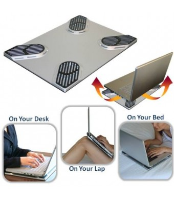 Xpad Slim (Non-slip Laptop Cooler and Heatshield)