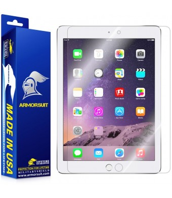 ArmorSuit MilitaryShield - Apple iPad Air 2 Screen Protector Anti-Bubble Ultra HD - Extreme Clarity and Touch Responsive with Lifetime Replacements W