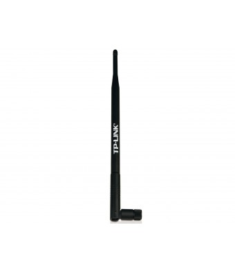 TP-LINK TL-ANT2408CL 2.4GHz 8dBi Indoor Omni-directional Antenna, 802.11n/b/g, RP-SMA Female connector