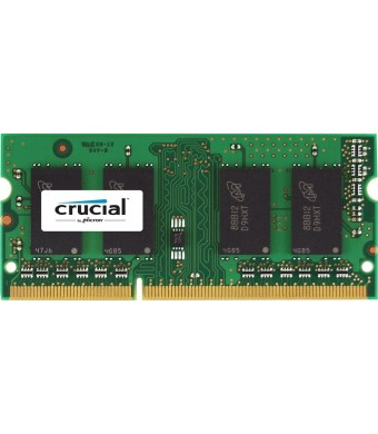 Crucial 2GB Single DDR3 1600 MT/s (PC3-12800) CL11 SODIMM 204-Pin 1.35V/1.5V Notebook Memory Module CT25664BF160B