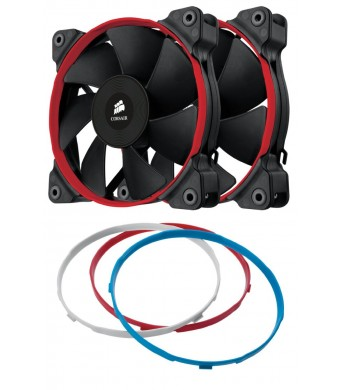 Corsair Air Series SP120 Quiet Edition Twin Pack Fan (CO-9050006-WW)