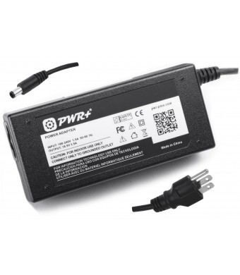 Pwr+ 14 Ft Ac Adapter for Hp Officejet 100 Mobile Printer L411 L411a Cn551ab1h Cn551a#b1h L 411 411a ; 65 Watt Charger Power Supply Cord