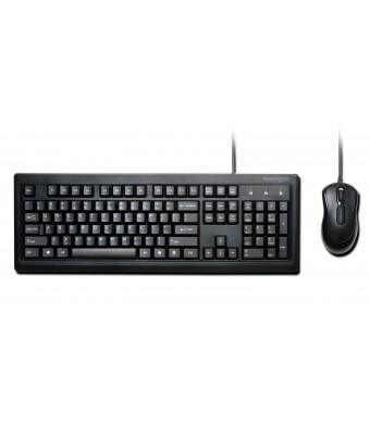 Kensington Keyboard and Mouse for Life Wired Desktop Set (K72436AM)