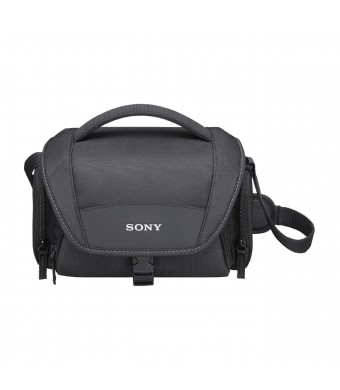 Sony LCSU21 Soft Carrying Case for Cyber-Shot and Alpha NEX Cameras (Black)