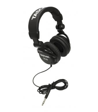 TASCAM TH02-B Closed-Back Stylish Headphone, Black
