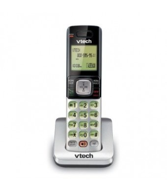 VTech CS6709 Accessory Handset with Caller ID/Call Waiting for Vtech CS6719, CS6729, CS6759, CS6829 or CS6859, Silver/Black