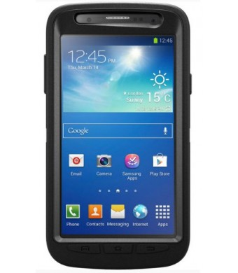 OtterBox Defender Series Case for Samsung Galaxy S4 Active - Retail Packaging - Black