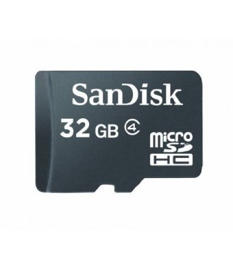 SanDisk 32GB microSDHC Card (SDSDQ-032, Bulk Package)