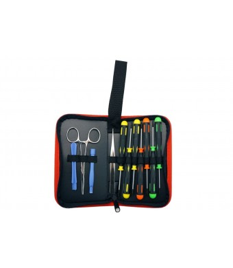 VisionTek Products VisionTek 12 Piece Computer Toolkit for Mac, iOS, and Digital Devices 900671