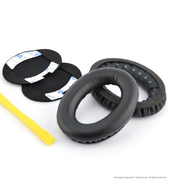 Geekria Replacement Ear Pad for Bose QC2, QC15, AE2, AE2i, AE2w, QuietComfort Headphone / Ear Cushion / Ear Cups / Ear Cover / Earpads Repair Parts