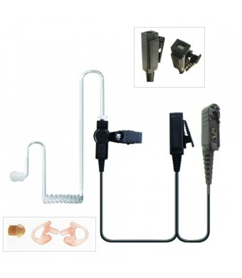 Valley Enterprises 2-Wire Two-Way Radio Surveillance Earpiece Kit for Motorola XPR3300 and XPR3500