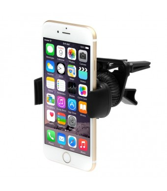 iKross Air Vent Car Vehicle Mount Holder for iPhone 6 / 6 Plus / 5 / 5S, Samsung Galaxy S6, S6 Edge, S5, Galaxy Note 4, Galaxy Alpha, LG G3 and Other