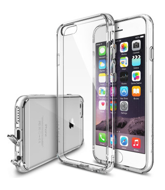 iPhone 6 Case - Ringke FUSION ***All New Dust Free Cap and Drop Protection*** [FREE Screen Protector][CRYSTAL VIEW] Premium Crystal Clear Back Shock