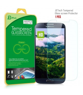 S4 Screen Protector, JETech Premium Tempered Glass Screen Protector for Samsung Galaxy S4 Galaxy S IV Galaxy SIV i9500