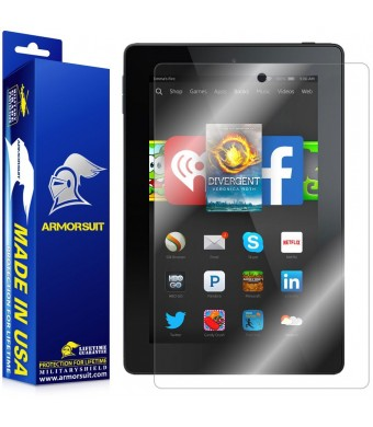 ArmorSuit MilitaryShield - Amazon Fire HD 7 (2014 Version 4th Generation) Screen Protector Anti-Bubble Ultra HD - Extreme Clarity and Touch Responsiv