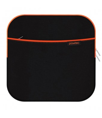 Pawtec External USB CD DVD Blu-Ray and Hard Drive Neoprene Protective Storage Carrying Sleeve Case With Extra Storage Pocket