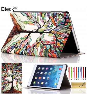 iPad Mini Case, iPad Mini / Mini 2 Retina/ Mini 3 Case Cover, [2014 Release] Dteck(TM) Fashion Vintage Design Flip PU Leather Smart Cute Stand Case,