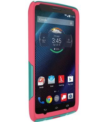 Otterbox Otterbox 77-50190 Droid™ Turbo By Motorola(r) Commuter Series(r) Case (teal Rose Ii) - Carrying Case - Retail Packaging - Teal Rose