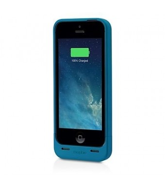 mophie Extended Battery Case for iPhone 5/5S - Retail Packaging - Blue