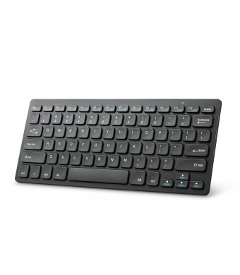 Anker Ultra Slim 2.4G Wireless Compact Keyboard with Dedicated Hot Keys for Windows 8 / 7 / Vista / XP