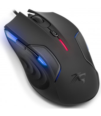 Gaming Mouse 3200Dpi Sentey Nebulus Pc Laser Mmo/rts/fps - 9 Weight Tuning Cartridges / 4 DPI Levels / Programmable Software / / 4 Different DPI Leve