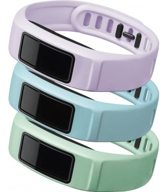 Garmin vívofit 2 Wrist Bands (Small) (Mint/Cloud/Lilac)