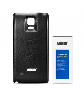 [NFC/Google Wallet Capable] Anker 6440mAh Extended Battery for Samsung Galaxy Note 4, N910, N910U 4G LTE, N910V(Verizon), N910T(T-Mobile), N910A(ATan
