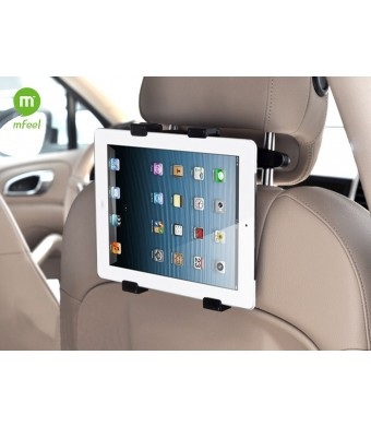 MFEEL Universal Car Back Seat Headrest Mount Holder Table Mount Holder with 360 Degree Adjustable Rotating Travel Kit For Apple iPad 2 / iPad 3 / iPa