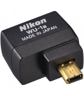 Nikon WU-1a Wireless Mobile Adapter for Nikon Digital SLRs - (Certified Refurbished)