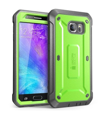 Galaxy S6 Case, SUPCASE Full-body Rugged Holster Case with Built-in Screen Protector for Samsung Galaxy S6 (2015 Release), Unicorn Beetle PRO Series