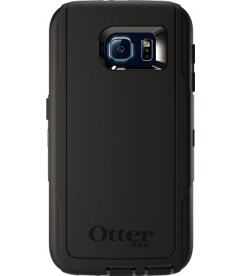 OtterBox DEFENDER SERIES for Samsung Galaxy S6 - Retail Packaging - Black