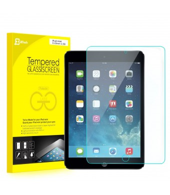 iPad Mini Screen Protector, JETech Premium Tempered Glass Screen Protector Film for Apple iPad Mini 1/2/3 All Models