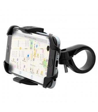 Aduro U-GRIP PLUS Universal Bike, Motorcycle, Handlebar, Roll Bar Mount for Smart Phones, Apple iPhone 6 / 6 Plus / 5 / 5S / 5C / 4 / 4S, Samsung Gal