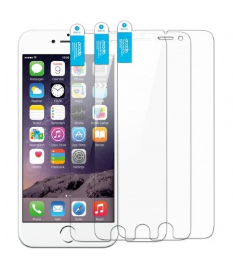 iPhone 6 Plus Screen Protector, Arcadia Premium High Quality Transparent Screen Protector, Compatible with the Apple iPhone 6 Plus (5.5 inch) (3-Pack)