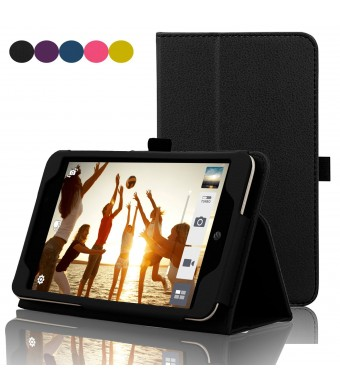 ASUS MeMO Pad 7 LTE Case - ACdream ATandT ASUS MeMO Pad 7 LTE Protective Case [with Auto Wake Sleep Feature] - Premium PU Leather Smart Cover Case fo