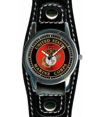 Aqua Force Marines Fashion Watch with 40mm Face