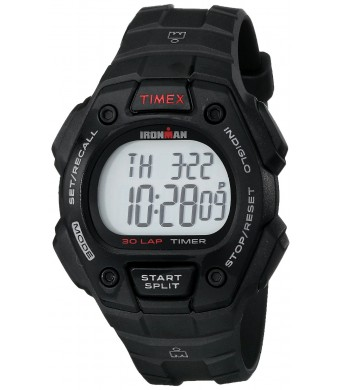 "Timex Men's T5K8229J ""Ironman Classic 30""  Resin Running Watch"