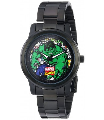 Marvel Men's Hulk W001776 Analog-Quartz Black Watch