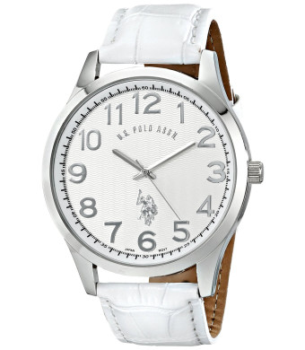 U.S. Polo Assn. Classic Men's USC50192 Analog Display Analog Quartz White Watch